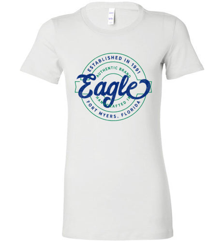 iheart FGCU eagles stamp women's t-shirt