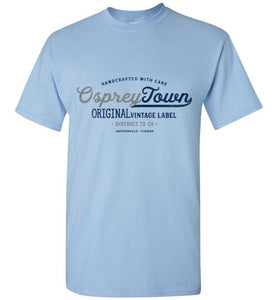 iheart UNF ospreys town men's t-shirt