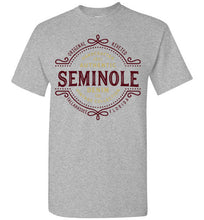 iheart FSU seminoles denim men's t-shirt