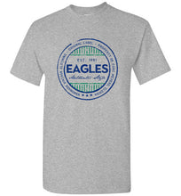 iheart FGCU eagles stripe men's t-shirt