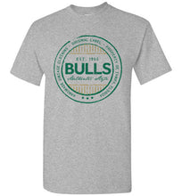iheart USF bulls stripe men's t-shirt