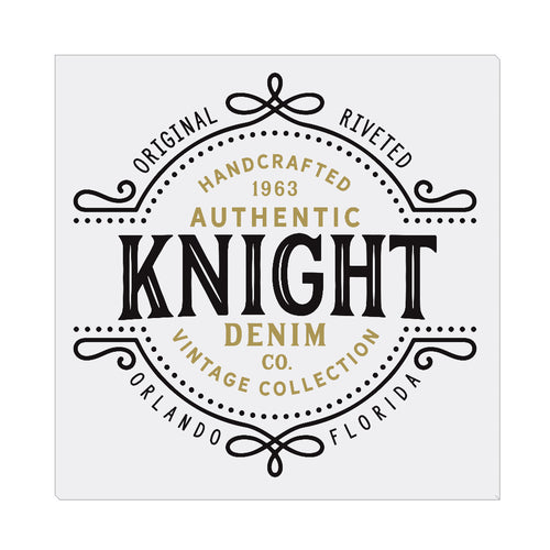 iheart UCF knights denim square canvas wall art