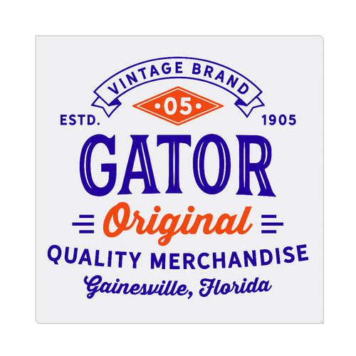 iheart UF gators original square canvas wall art