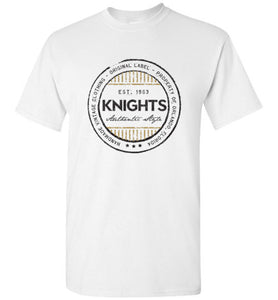 iheart UCF knights stripe men's t-shirt