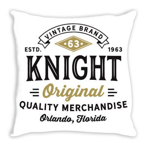 iheart UCF knights stamp and original throw pillow