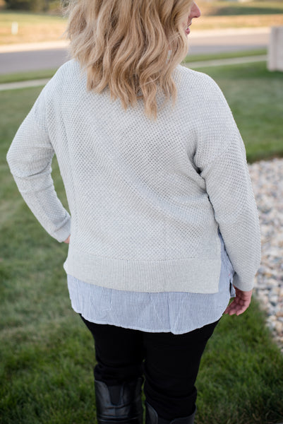 Dedra Double layer plus sweater