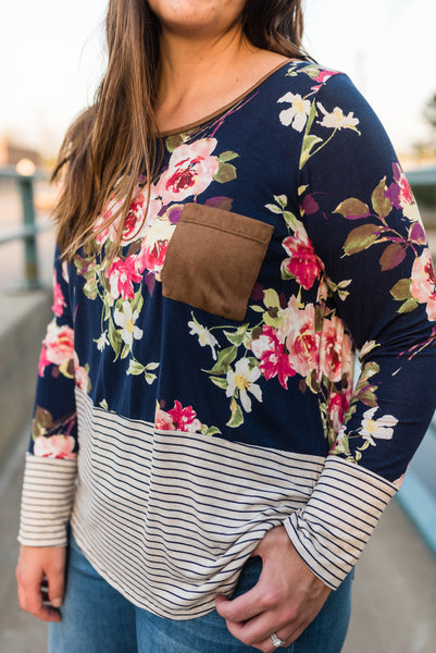 Stacey floral top
