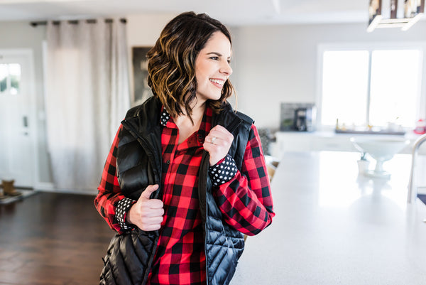 Becca plaid shirt