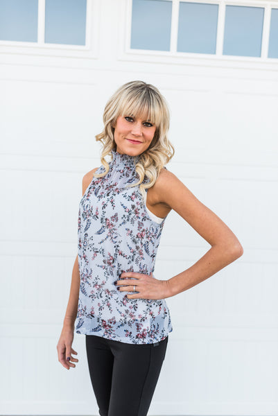 Gloria sleeveless top