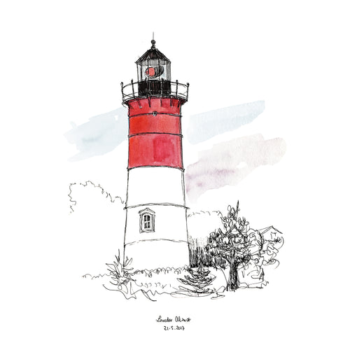 Nauset Lighthouse 2 (Sketches)