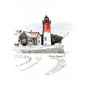 Nauset Lighthouse (Sketches)