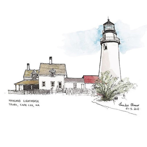 Highland Lighthouse (Sketches)