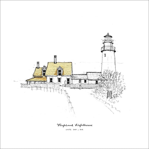 Highland Lighthouse (Cape Cod) · Sketches