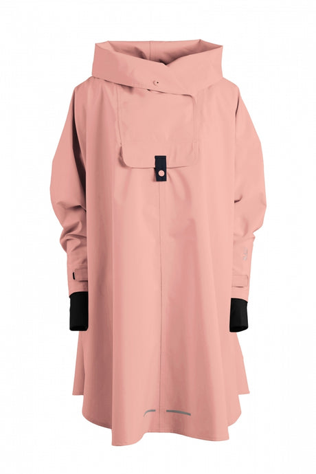 Style 580 BERGEN PONCHO PINK