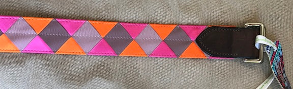 BoyoBoy Bridleworks Double Square Loop Belts Check colorways for sale  pricing
