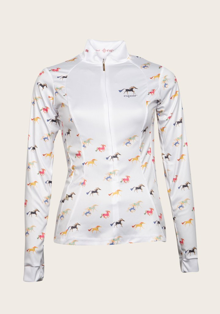 Espoir White Joie Showshirt New Colorway