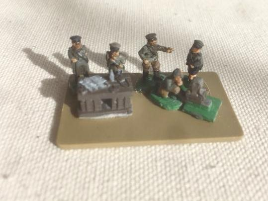 Russian Infantry HQ Set