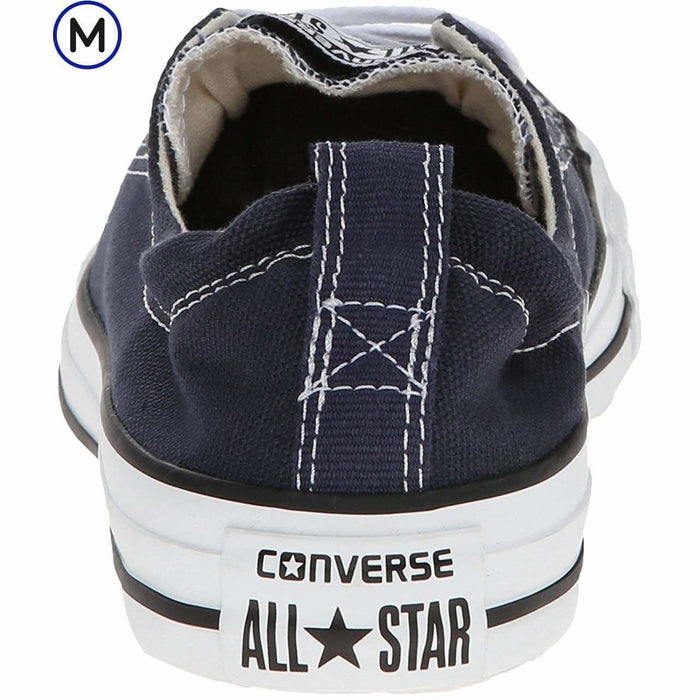 Converse Womens Chuck Taylor All Star Shoreline Slip-On Shoe shoes 50-75 color-athletic-navy color-black color-varsity-red color-white