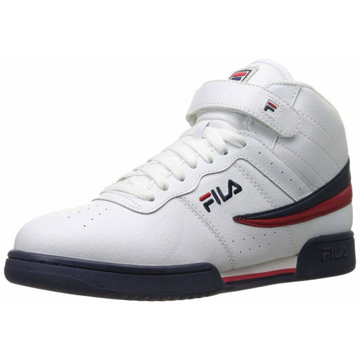 Fila Mens F-13v Lea/syn Fashion Sneakers Shoes color-fila-red-fila-navy-white fila size-10 Sneaker sneakers 7.32E+11