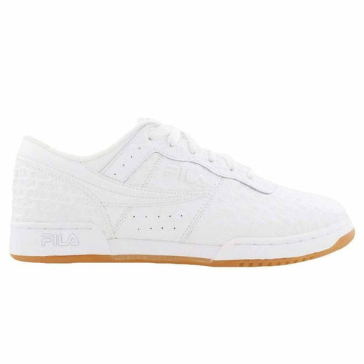 Fila Mens Original Fitness Small Logos Shoes color-white-white-gum fila size-10-5 size-11 size-12 6.08E+11