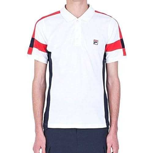 Fila Mens Prago Polo Shirt Tee