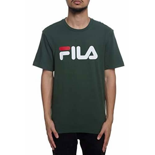 Fila Mens Printed Tee color-sycamore fila size-3xlg size-4xlg size-l