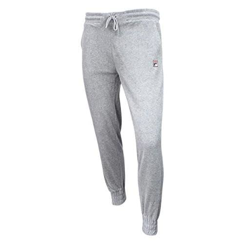 Fila Womens Jodi Velour Jogger Pants pants and shorts color-grey-heather fila size-x-large