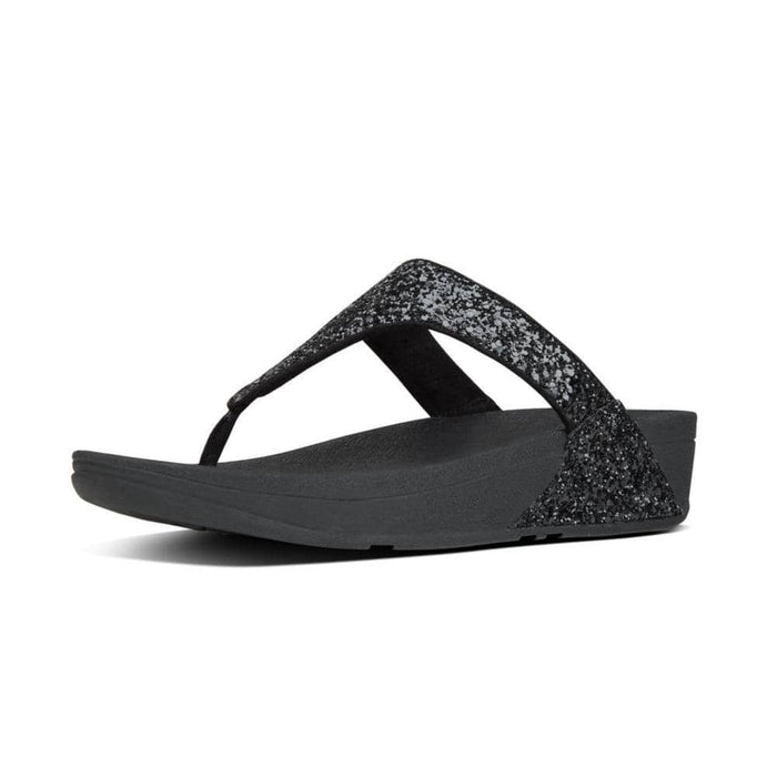 FitFlop Womens Glitterball Toe-Thong Sandals shoes 75-100 color-black color-bronze color-midnight-navy color-pewter