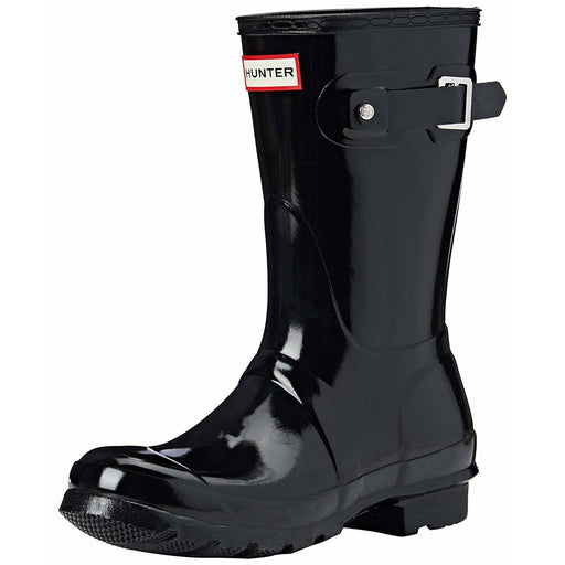 Hunter Womens Original Short Gloss Rain Boots shoes 100-150 Boot color-black color-military-red hunter 5.01E+12