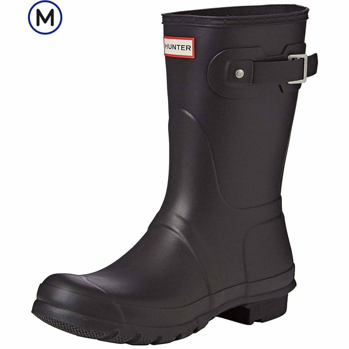 Hunter Womens Original Short Rain Boots shoes 100-150 Boot color-black color-hunter-green color-navy 5.01E+12