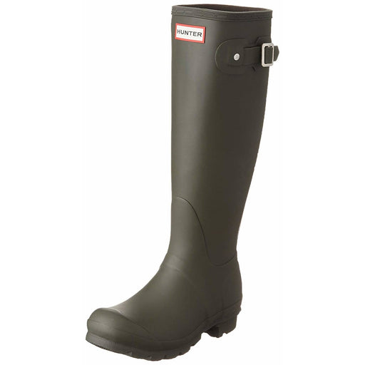 Hunter Womens Original Tall Rain Boots shoes 150-250 Boot color-black color-dark-olive color-hunter-green 5.01E+12