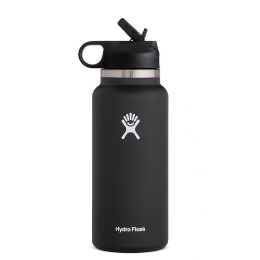 Hydro Flask 32 oz Wide Mouth Water Bottle with Straw Lid 810007835563