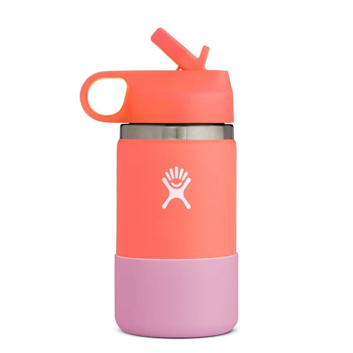 Hydro Flask Kids Wide Mouth 12 oz Water Bottle with Straw Lid 810007837710