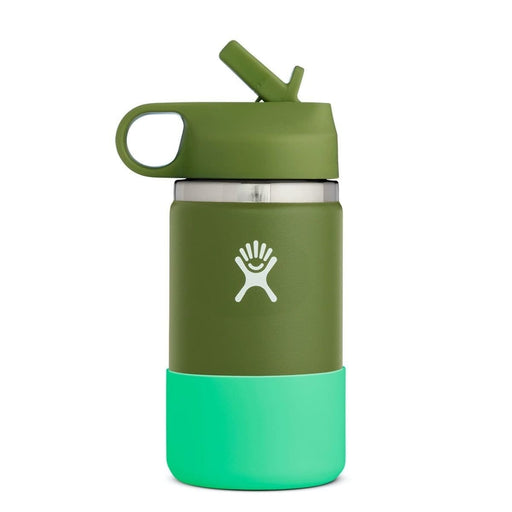 Hydro Flask Kids Wide Mouth 12 oz Water Bottle with Straw Lid 810007837741