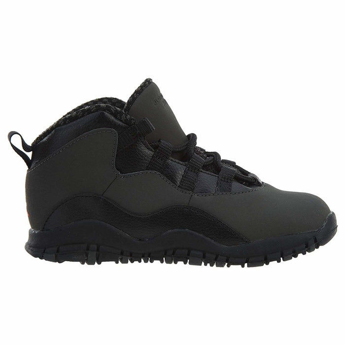 Jordan 10 Retro Toddlers Shoes Dark Shadow/True Red/Black 310808-002 Kids shoes airforece airmax authentic basketball black 8.87E+11