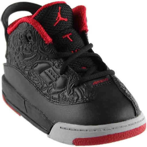 Jordan Dub Zero Black/Gym Red-Wolf Grey-White (Toddler) Kids shoes airforece airmax authentic basketball black 8.89E+11