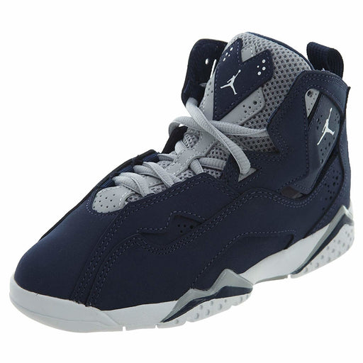 Jordan True Flight Preschool Basketball Shoes Navy Kids shoes airforece airmax authentic basketball black 8.85E+11