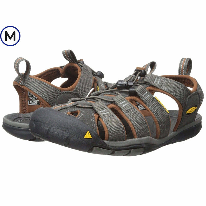 KEEN Mens Clearwater CNX Sandal Shoes 100-150 athletic athletic-shoes Black 887194636785