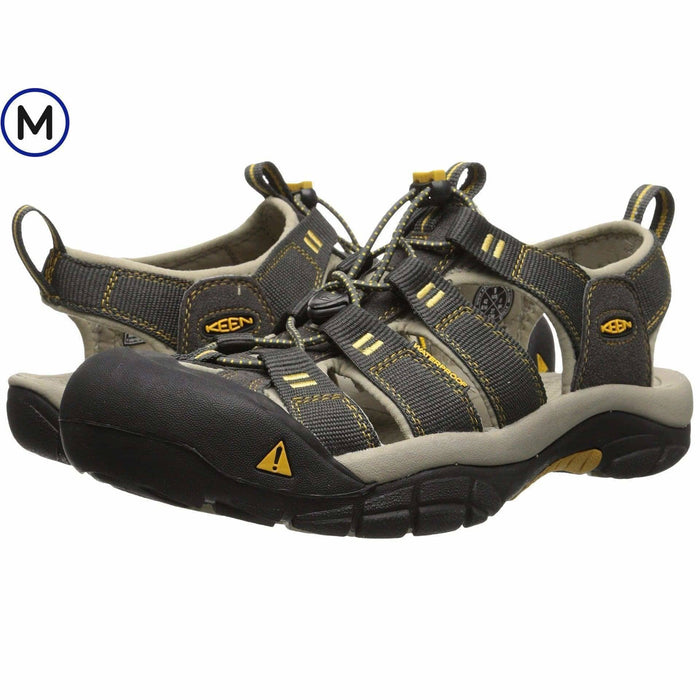 KEEN Mens Newport H2 Sandal Shoes 100-150 athletic athletic-shoes Black color-black 887194870899