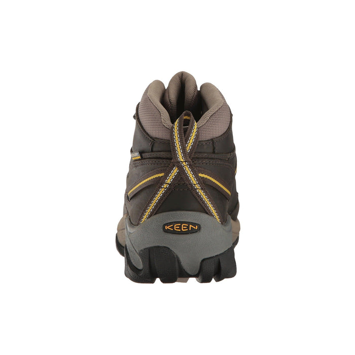 KEEN Mens Targhee II Waterproof Mid Wide Hiking Boot Shoes 100-150 9 black boots 8.87E+11