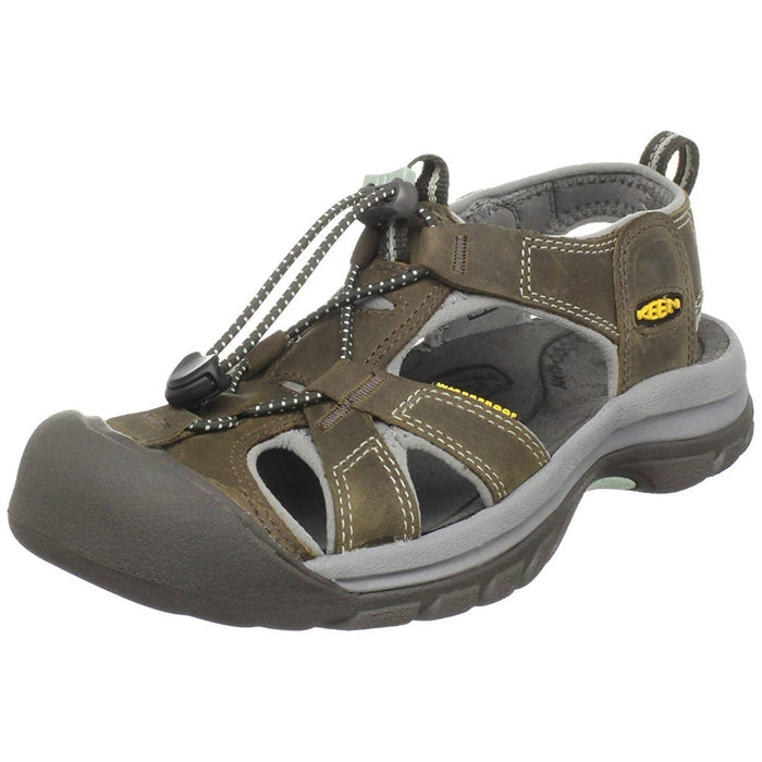 KEEN Womens Venice Sandal shoes 100-150 athletic athletic-shoes color-black-olive-surf-spray keen 8.71E+11