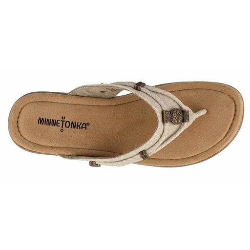 Minnetonka Womens Silverthorne Thong Sandal shoes 8.87E+11