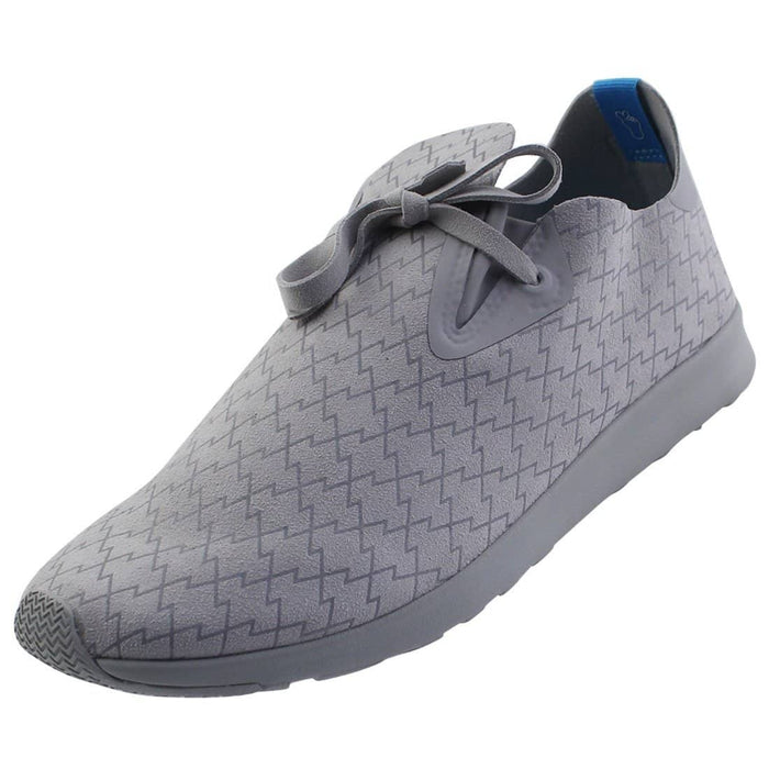 Native Apollo moc print Pigeon Grey / 3M Lightning Mens shoes