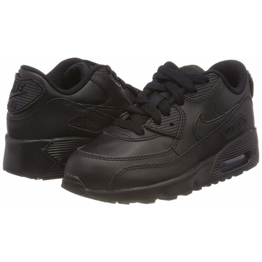 Nike Air Max 90 Leather Little Kids Shoe shoes airforece airmax authentic basketball black 8.26E+11
