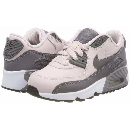 Nike Air Max 90 Leather (Preschool) Kids shoes airforece airmax authentic basketball black 6.66E+11
