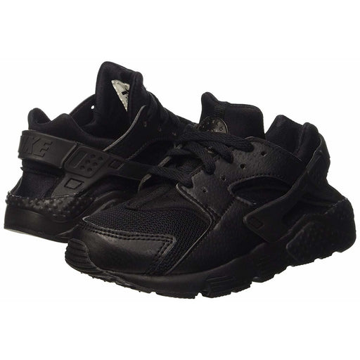 Nike Huarache Run Black PS Sneakers Kids shoes airforece airmax authentic basketball black 6.76E+11