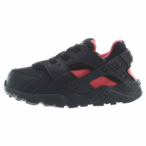 Nike HUARACHE RUN BLACK (TD) Kids shoes black huarache kids run 91205174849