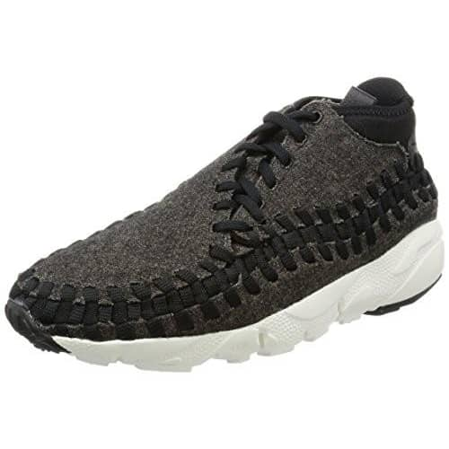 Nike Mens Air Footscape Woven Chukka Ankle-High Fashion Sneaker shoes airforece airmax authentic basketball black 8.23E+11