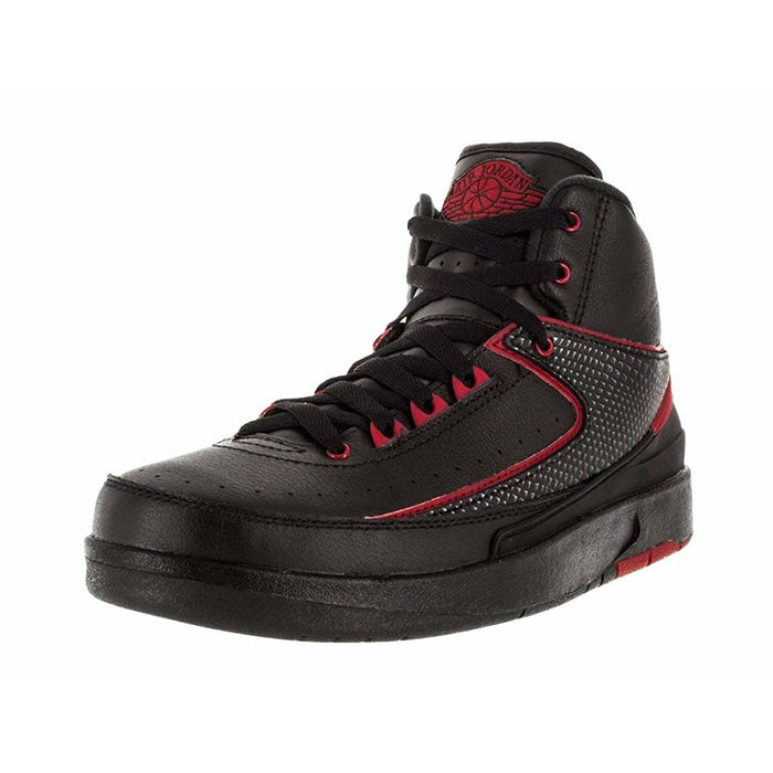 Nike Retro 2 Basketball Gradeschool Kids Shoes shoes Jordan airforece airmax authentic basketball black