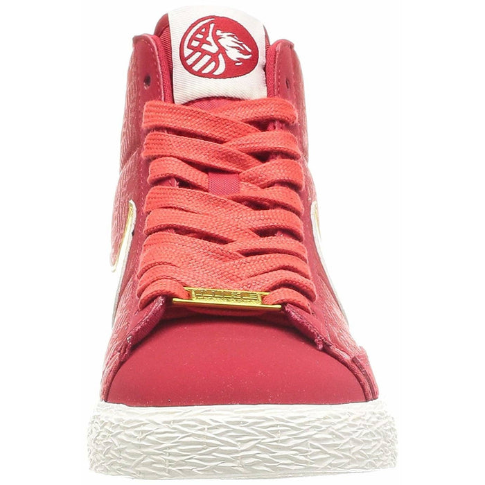 Nike WMNS Blazer Mid YOTH Year The Horse - Red (631663-607) Womens shoes airforece airmax authentic basketball black